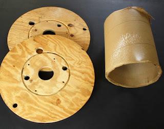 taburetes reciclados