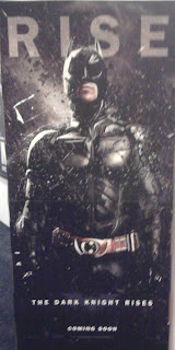 The Dark Knight Rises  Filmplakat  (Foto von mir)
