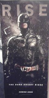 The Dark Knight Rises  Filmplakat  (Foto von mir)