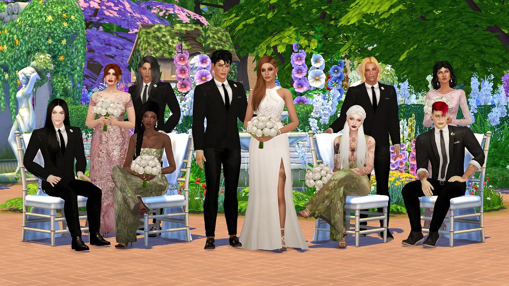 My Sims 4 Blog: White Wedding Poses By Eslanes