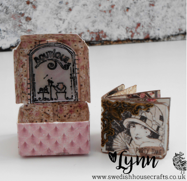 Gummiapan Mini Pizza boxes - no pizza! | By Lynn