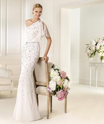 vestido de novia vintage pronovias
