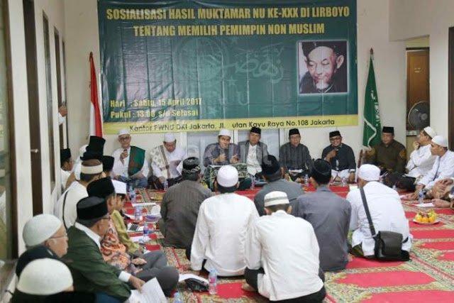 Para Kiai NU: Kita Berpegangan Pada Hasil Muktamar Lirboyo, Haram Pilih Pemimpin Non-Muslim!