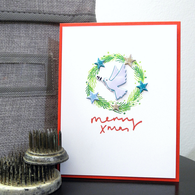 By Jennifer Ingle #JustJingle #PinkFreshStudio #Christmas #Cards