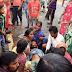 কাটোয়া-মালডাঙ্গা রাজ্যসড়কে পথ দুর্ঘটনায় আহত সাইকেল আরোহী