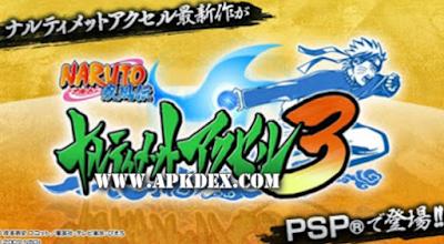 Naruto Shippuden Narutimate Accel 3 ISO PSP