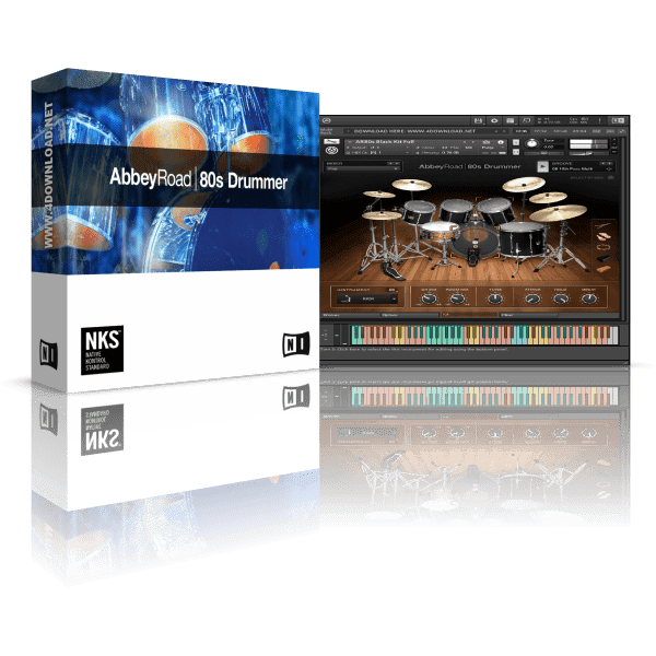 Native Instruments Abbey Road 80s Drummer KONTAKT Library