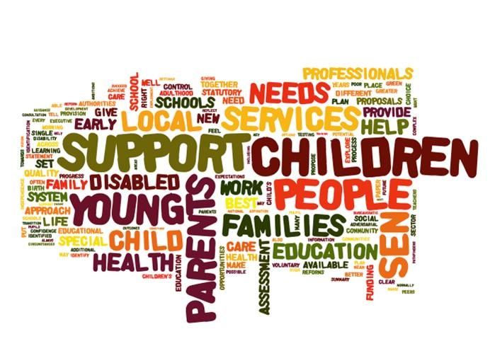 Support for children with special educational needs.