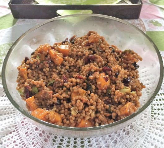 Wheatberry Salad...Yum
