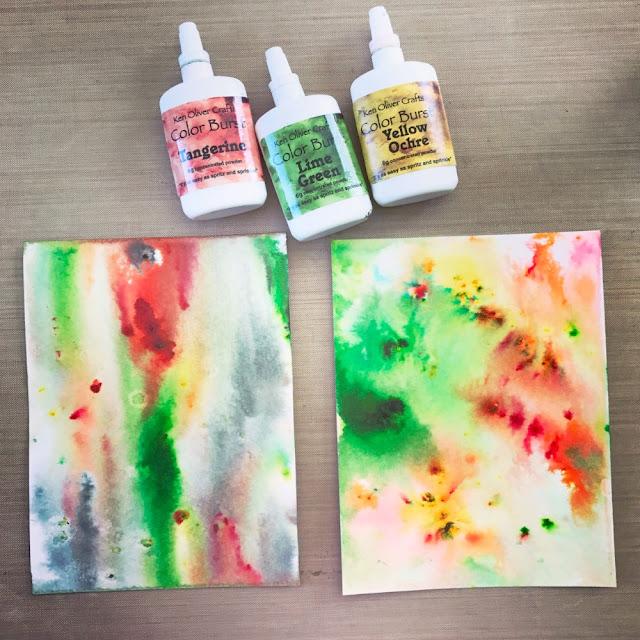 Card_Background_Tutorial_Ken_Oliver_Watercolor_Color_Burst_Crystals