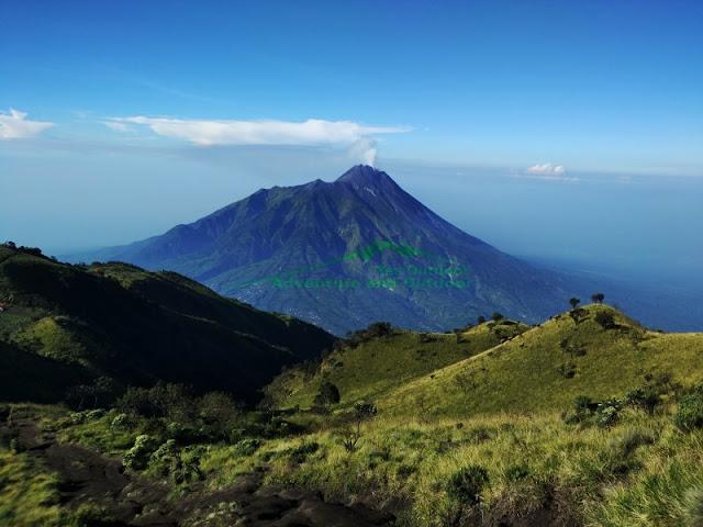 Panorama pendakian gunung merbabu via Selo