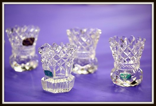 The Vintage Chateau Tiny Toothpick Holders