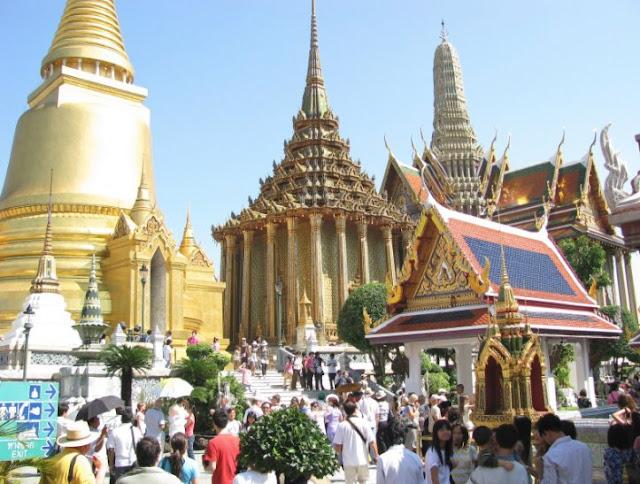 """اكثر مدينة سياحية في العالم """" بانكوك"""""""