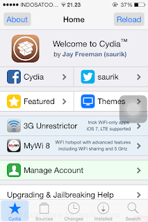 Cara Menambahkan Repository/source di Cydia Iphone, Ipad, Ipod