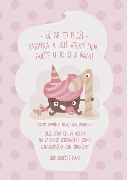pozvánka na první narozeniny Máma na blogu: Potřebujeme pozvánku na první narozeniny? pozvánka na první narozeniny