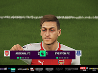 PES 2018 Final Premier League Scoreboard