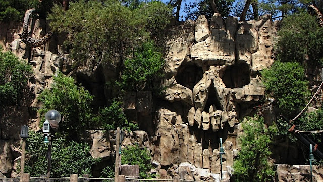 Skull Wall near Treasure Island Hotel in Las Vegas..