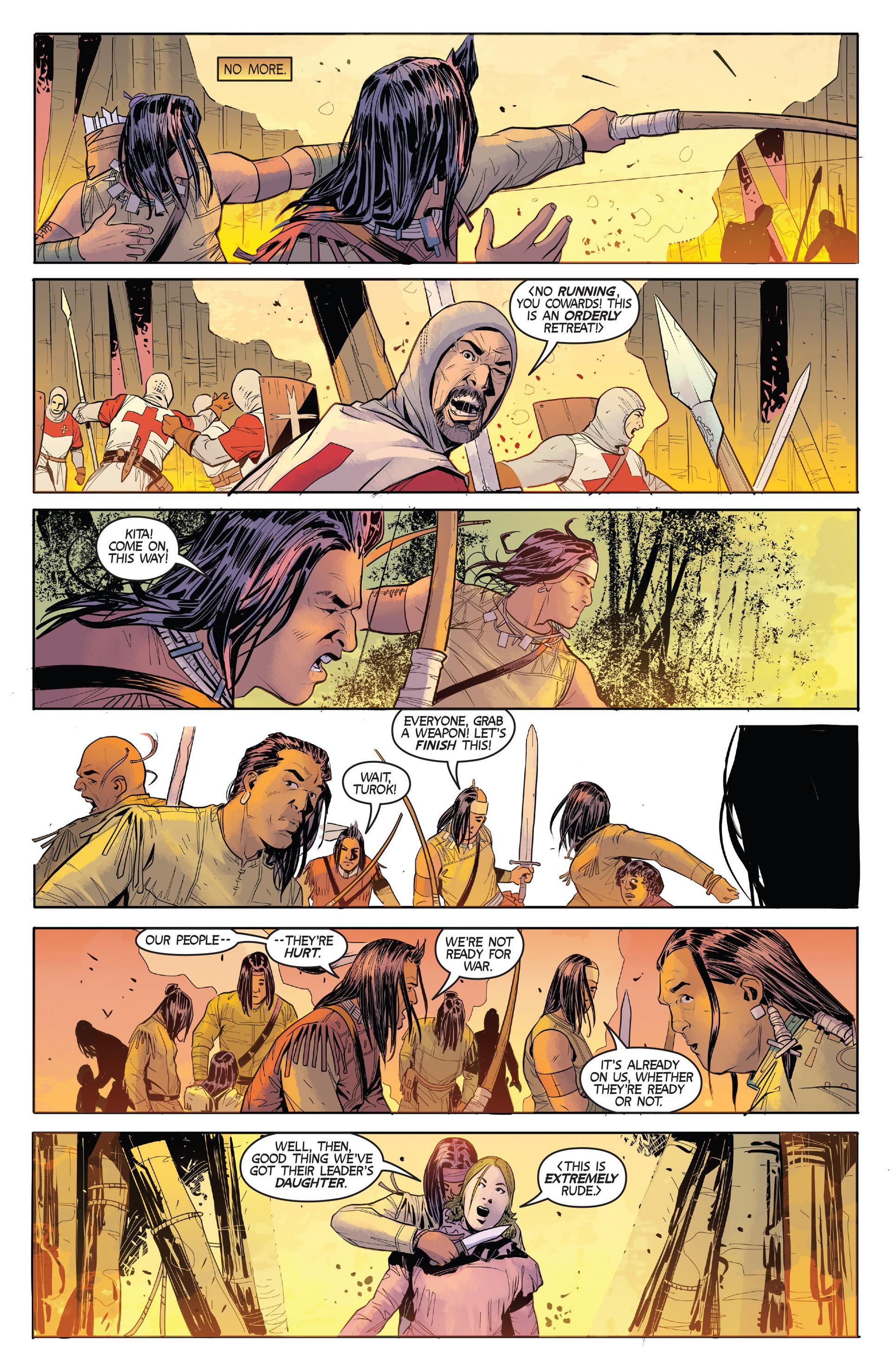 Read online Turok: Dinosaur Hunter (2014) comic -  Issue #2 - 22