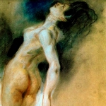 'Nu femení (Ferdinand-Victor-Eugène Delacroix)'