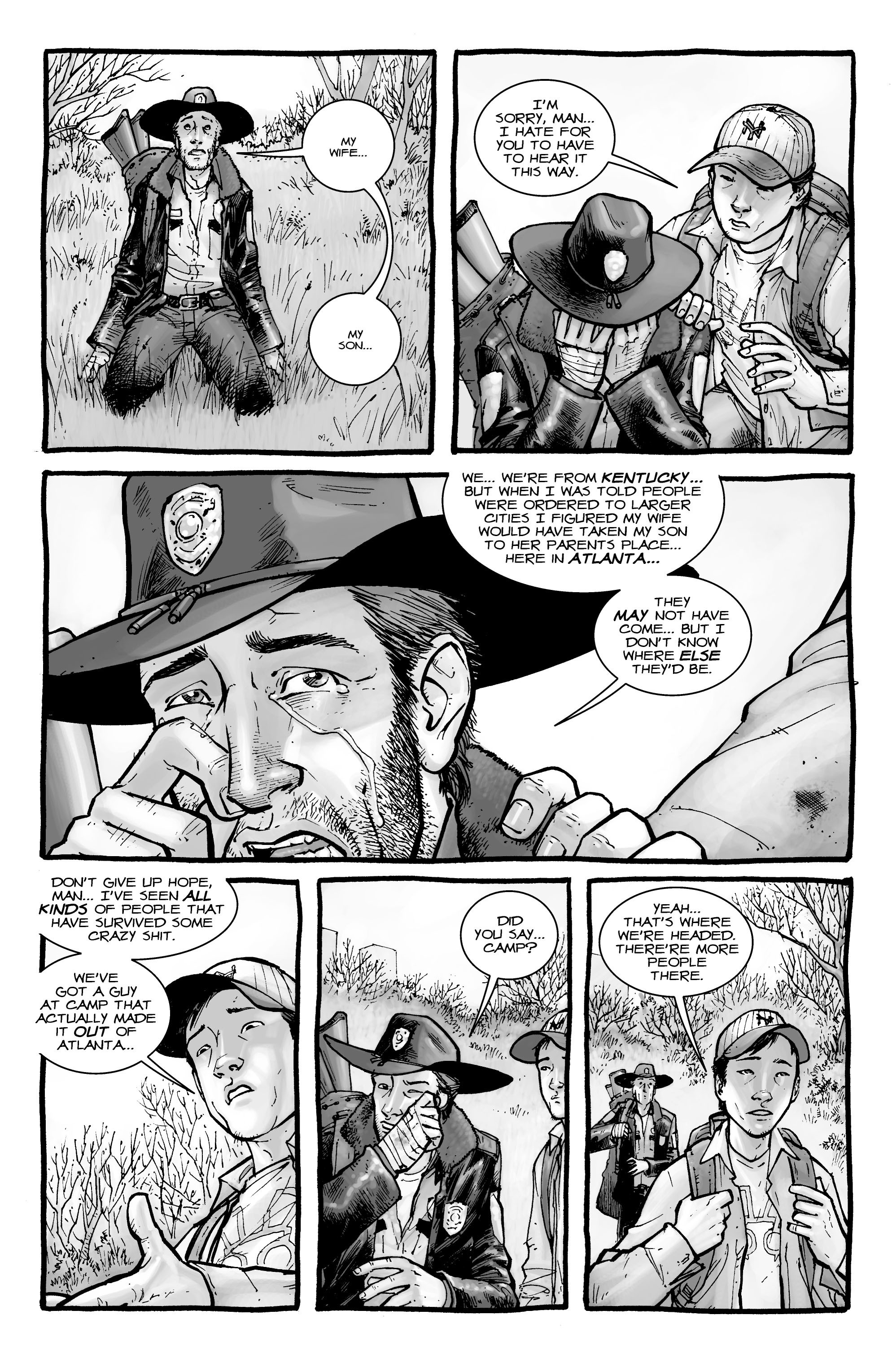 The Walking Dead issue 2 - Page 22