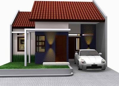foto rumah minimalis satu lantai sederhana