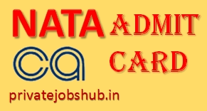 NATA Admit Card