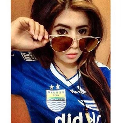 Ladies Persib | Ladies Persib Cantik | Indri Barbie Persib