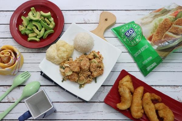 Resep So Good Chicken Katsu Gado Gado Padang