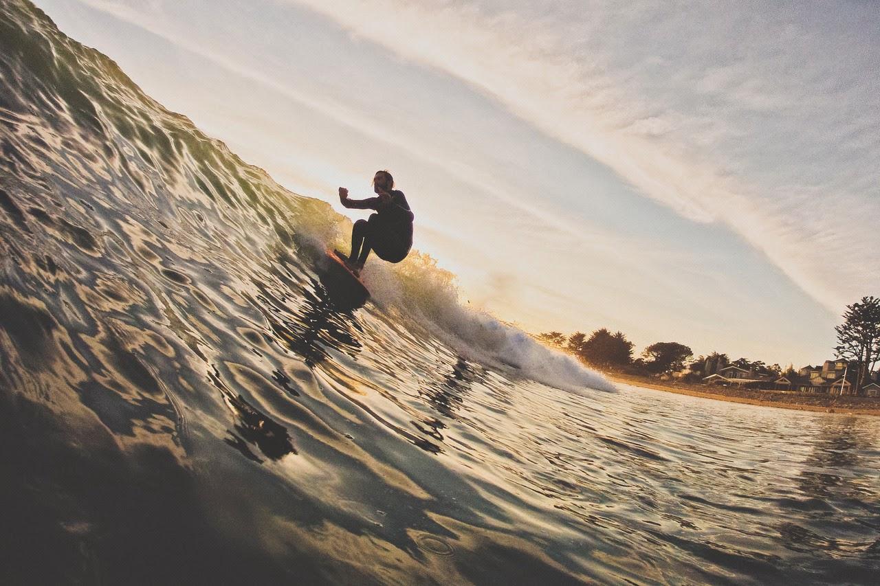 Greg Swanson y Sea Glide