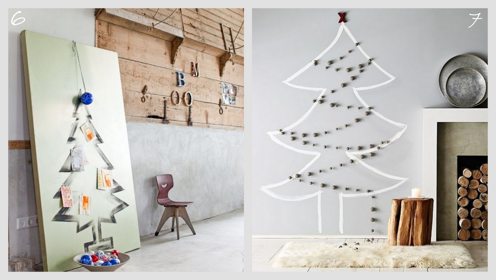 Unconventional Christmas Trees.Leotie Loves Unconventional Christmas Trees Hollyrose Eco