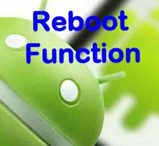 Apa perlu dan fungsi reboot android ?