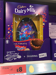 cadbury dairy milk ultimate daim easter egg