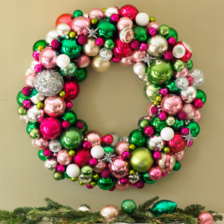 holiday wreath ideas christa delgado design inc