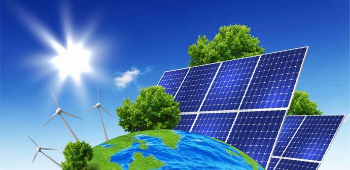 Ilustrasi Energi Matahari