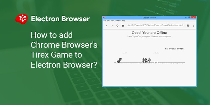 How to add Chrome Browser's Tirex Game to Electron Browser?
