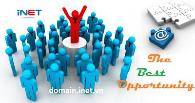 Đầu tư tên miền - Đăng ký tên miền iNET