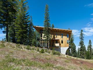 แบบบ้านผนังไม้สวยๆ