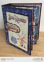 Sun Kissed Bureau and Mini Album 2  Clare Charvill Graphic 45