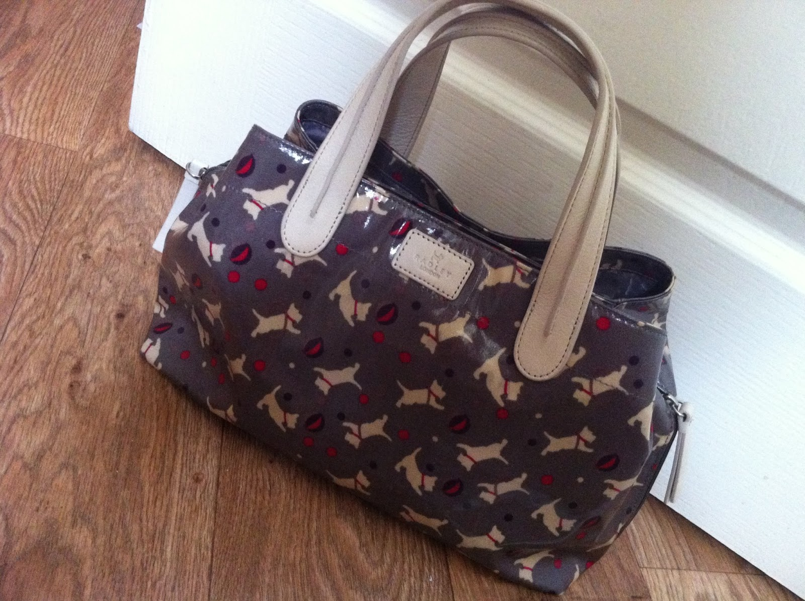 I M Starting With My Medium Circus Dog Canvas Tote Bag Pictured Above