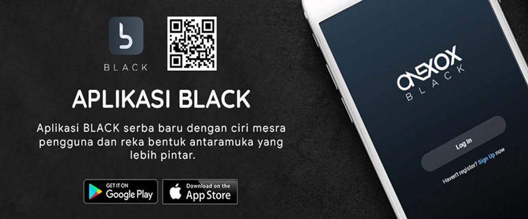 aplikasi xox black