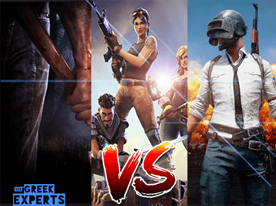 PUBG vs Fortnite vs H1Z1 απο https://greek-experts.blogspot.gr