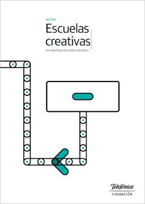 Portada del libro de introducción Escuelas Creativas, un viaje hacia el cambio educativo