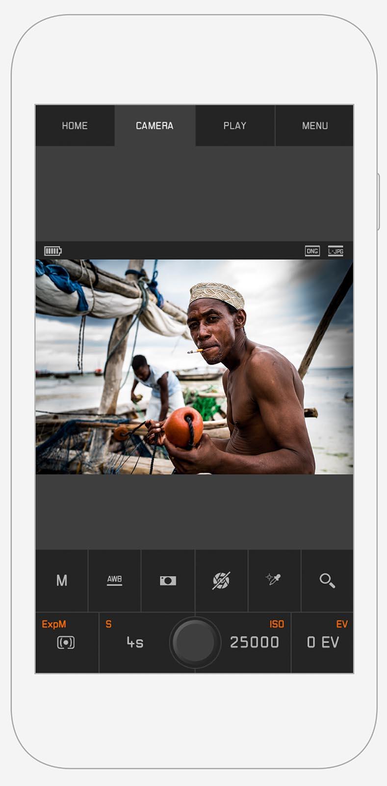 Приложение для смартфонов и планшетов Leica M-App