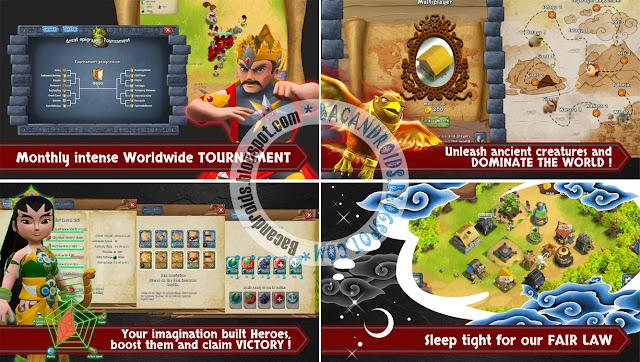 Kurusetra Apk + Data OBB Versi 1.1.4 Terbaru Game RPG Mirip COC