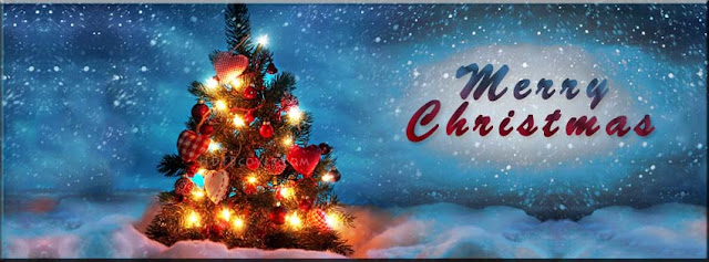 Facebook Merry Christmas Cover Banner 2016