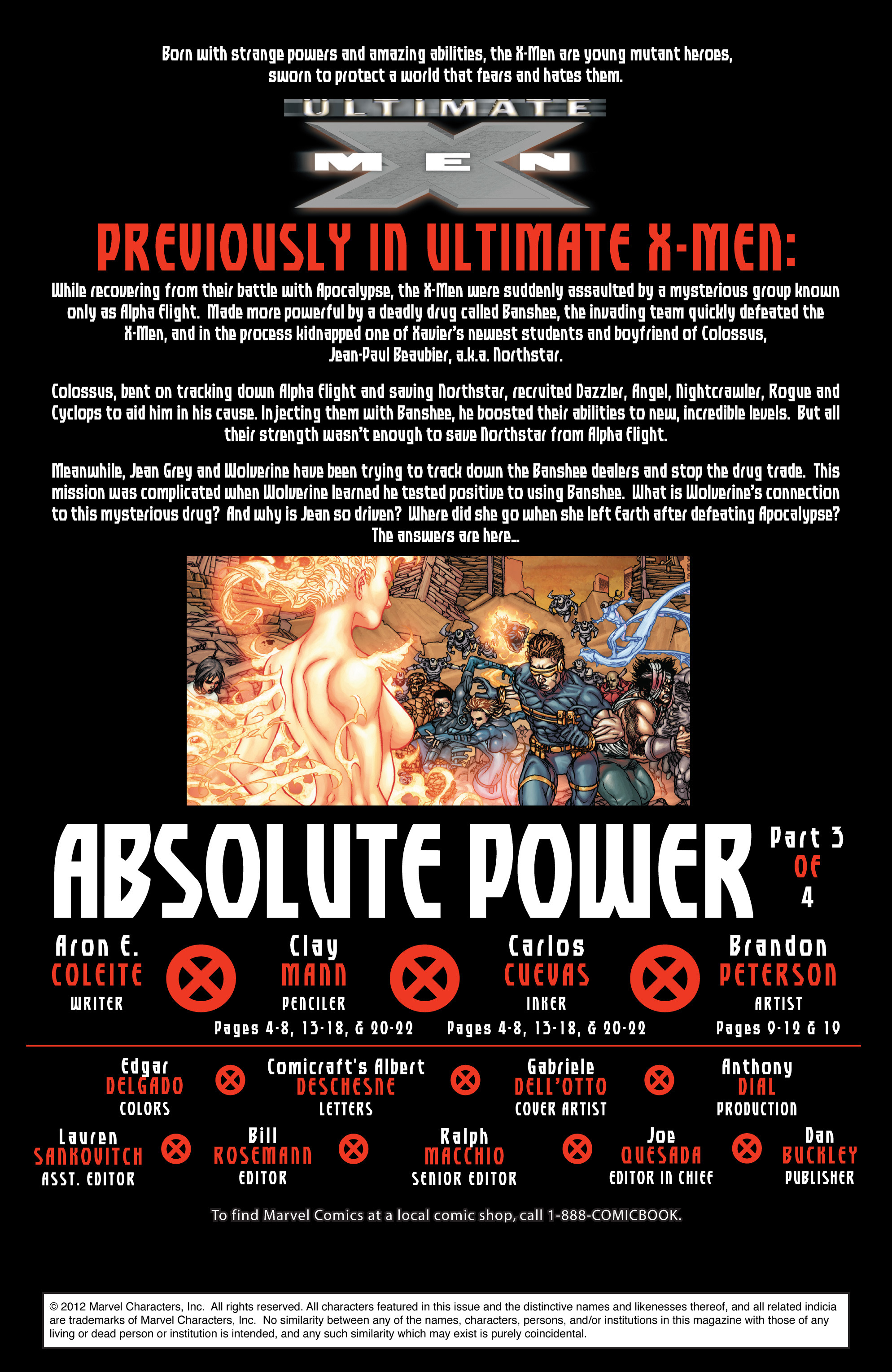 Read online Ultimate X-Men comic -  Issue #96 - 2