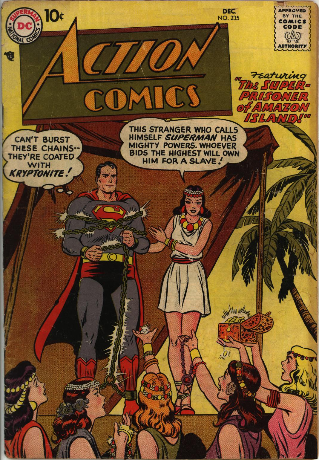 Read online Action Comics (1938) comic -  Issue #235 - 1