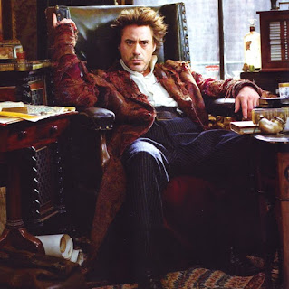 robert downey jr as sherlock