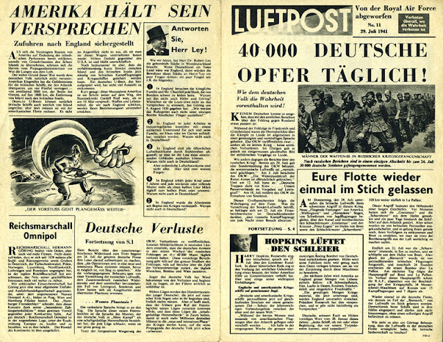 Luftpost propaganda, 29 July 1941 worldwartwo.filminspector.com