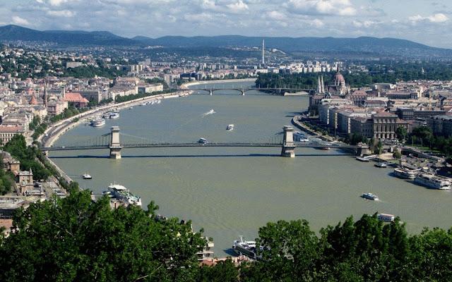 Rio Danubio - Budapeste